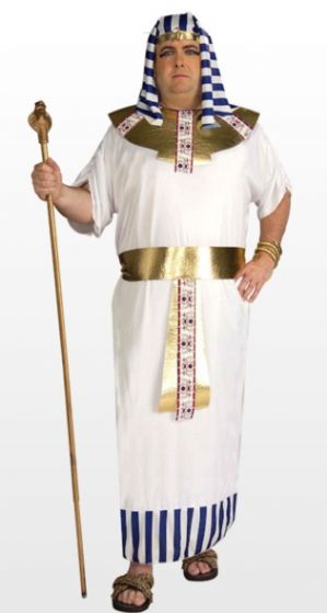 Egyptian Pharaoh Plus Size Costume (67640)